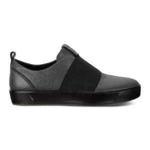 ECCO Soft 8 W Shoe Sneakers Size 8-8.5 Black