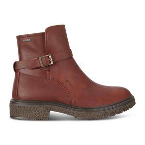 ECCO Womens Crepetray Gtx Boot Size 6-6.5 Rust