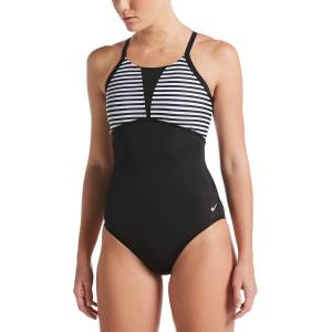 Nike Women's Laser Stripe Swimsuit