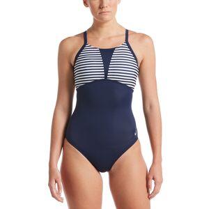 Nike Women's Laser Stripe Swimsuit