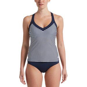 Nike Women's Laser Stripe Tankini Swimsuit Top