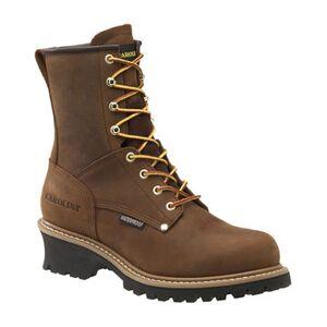 Carolina Men's 8 In. Crazy Horse Waterproof Work Boots, Wide Width