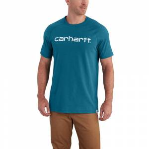 Carhartt Men's Force Cotton Delmont Graphic Short-Sleeve Tee