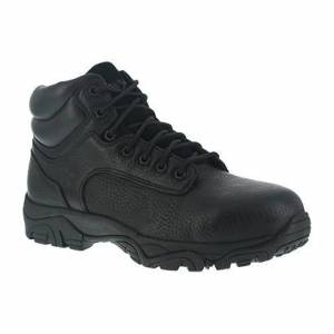 AGE Iron Age Women's Trencher Composite Toe 6 In. Work Boots, Black