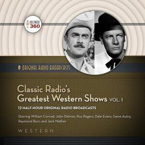 Western Digital Classic Radio's Greatest Western Shows, Vol. 1 - MP3 CD