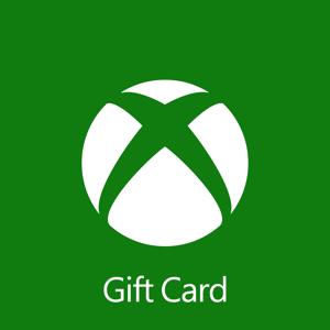 Microsoft $72.00 Xbox Digital Gift Card