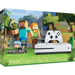 Microsoft Xbox One S 500GB Console - Minecraft Favorites Bundle