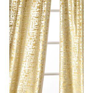 Lili Alessandra Yovanna Gold Shimmer Curtain Panels, Set of Two