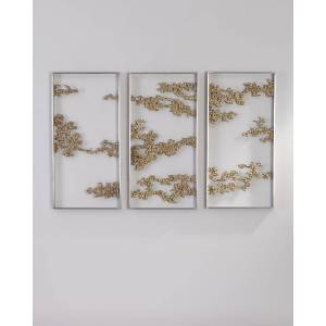 John-Richard Collection Chinoiserie Hanging Sculptures, Set of 3  - Size: unisex