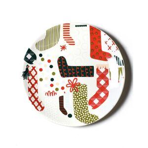 Coton Colors Stockings Salad Plate  - Size: unisex