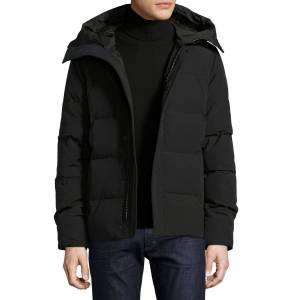 Canada Goose Macmillan Hooded Parka Coat  - BLACK - Gender: male - Size: Small