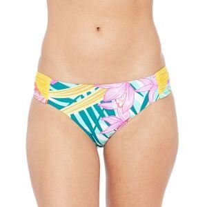 Trina Turk Terra Nostra Shirred Side Bikini Bottom - Size: 8