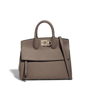 Salvatore Ferragamo Studio Top-Handle Bag