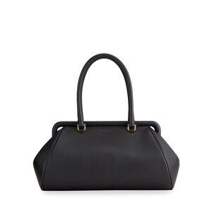 Salvatore Ferragamo Frame East-West Top-Handle Bag
