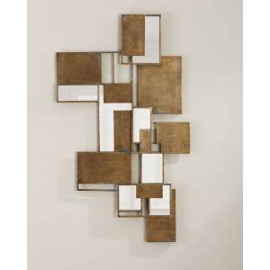 Jamie Young Optical Wall Art Mirror