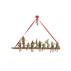 Patience Brewster 10 Pipers Piping Ornament  - Size: unisex