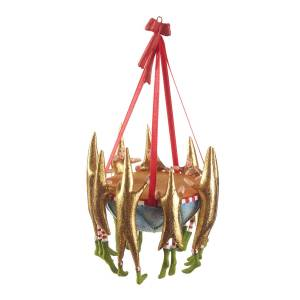Patience Brewster 9 Drummers Drumming Ornament  - Size: unisex
