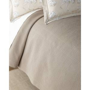 Peacock Alley Florence King Coverlet - PLATINUM