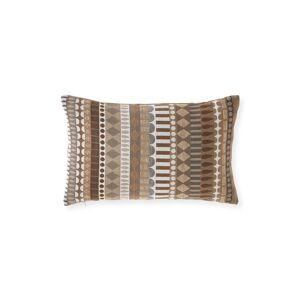 Elaine Smith Deco Linen Lumbar Sunbrella Pillow