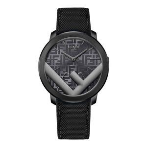 Fendi Men's Run Away F is Fendi-Motif Analog Leather Watch