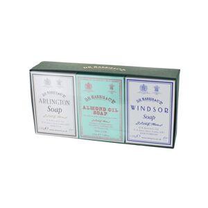 D.R. Harris & Co. Soap Trio - Arlington, Almond Oil, and Windsor