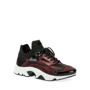 Kenzo Men's Sonic Two-Tone Patterned Running Sneakers