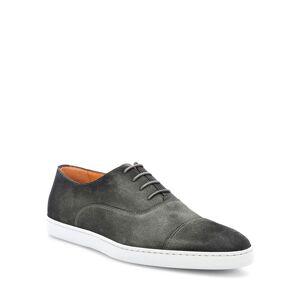 Santoni Men's Bund Distressed Suede Lace-Up Sneakers - Size: 9D