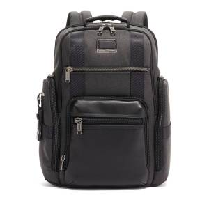 Tumi Alpha Sheppard Deluxe Brief Backpack - BLACK