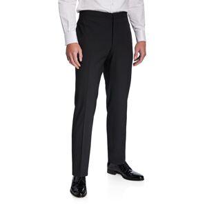 Emporio Armani Men's Stretch-Wool Tuxedo Pants - Size: 60R EU (50R US)