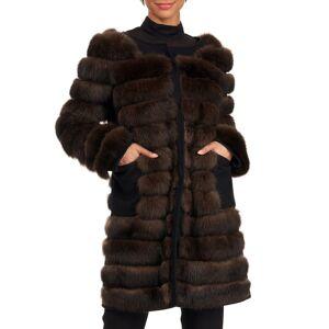 Burnett Sable Fur Stroller Coat - Size: Small