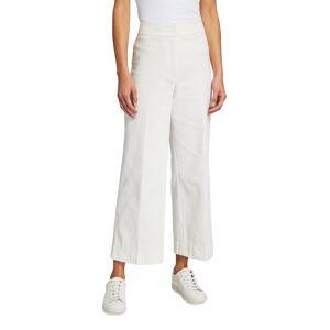 Akris punto Chieko Cotton Gabardine Wide-Leg Pants - Size: 4