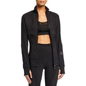 adidas by Stella McCartney Truepurpose Zip-Front Track Jacket with Ventilation - Size: Small