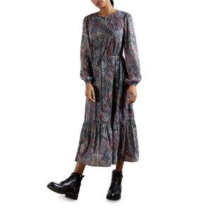 Ted Baker Elornna Lantern-Sleeve Throw-On Midi Dress - Size: 3