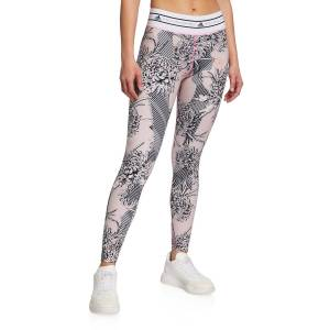 adidas by Stella McCartney Future Playground Banded-Waist Printed Leggings - Size: Small