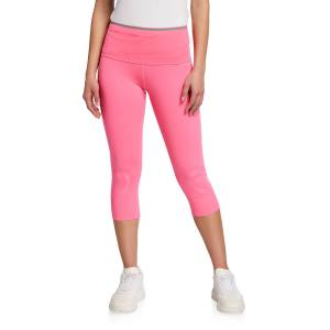 adidas by Stella McCartney High-Rise Cropped Leggings with Pocket - Size: Small
