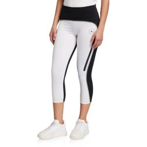 adidas by Stella McCartney Bicolor Cropped Leggings - Size: Small