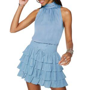 Ramy Brook Stormi Ruffle Mini Skirt - Size: Small