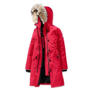 Canada Goose Youth Brittania Parka with Removable Fur Trim, XS-XL - Size: Small