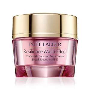 Estee Lauder 2.5 oz. Resilience Multi-Effect Tripeptide Face and Neck Creme SPF 15