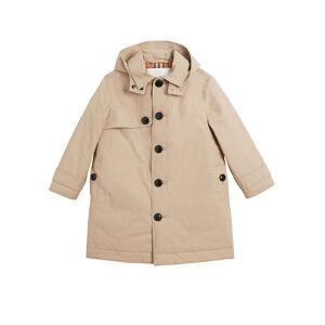 Burberry Bradley Hooded Trench Coat, Size 3-14  - BEIGE - Gender: male - Size: 3