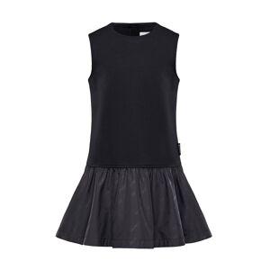 Moncler Fit-&-Flare Logo Dress, Size 8-14  - BLACK - Gender: female - Size: 8