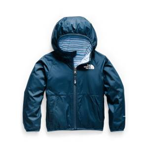 The North Face Boy's Breezeway Reversible Wind Jacket, Size 2-4T - Size: 3