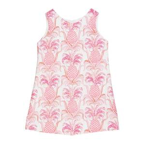 Susanne Lively Girl's Pineapple Sleeveless A-Line Dress, Size 4-6X  - PINK - Size: 5
