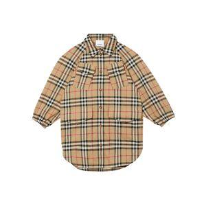 Burberry Girl's Teigan Vintage Check Shirtdress, Size 3-14 - Size: 8