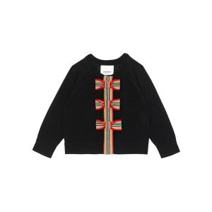Burberry Girl's Corrina 2-Piece Icon Stripe Cardigan Set, Size 6M-2 - Size: 2
