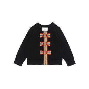 Burberry Girl's Corrina 2-Piece Icon Stripe Cardigan Set, Size 6M-2 - Size: 6 Months