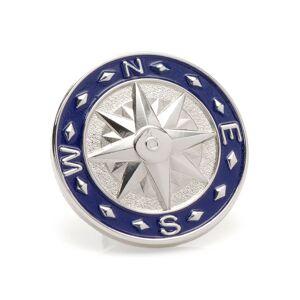 Cufflinks Inc. Men's Blue Compass Lapel Pin