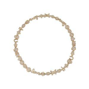 Sydney Evan 14k Diamond 15th Anniversary Necklace