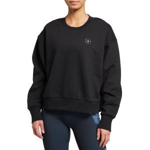 adidas by Stella McCartney Fleece Crewneck Sweatshirt - Size: Medium