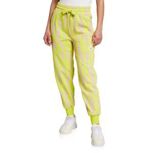 adidas by Stella McCartney Printed Drawstring Sweatpants - Size: Small